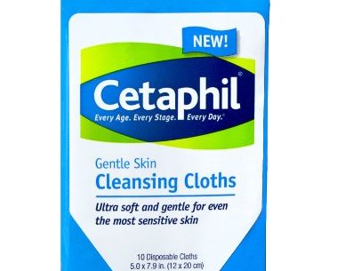 Cetaphil Cleansing Cloths | KPKids.net