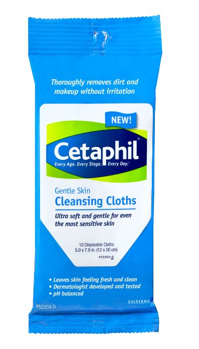 Keep Her Skin Clear | Cetaphil Cleansing Cloths