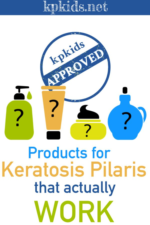 "bottles of lotion ""Products for Keratosis Pilaris that actually work"""